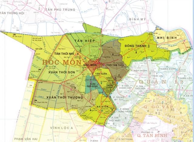 TPHCM điều chỉnh đồ án quy hoạch xây dựng Khu dân cư Tân Xuân