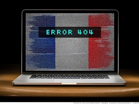 Pháp hứng chịu cuộc tấn công mạng lớn nhất từ trước đến nay