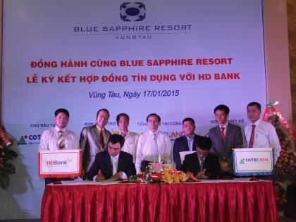 HDBank cho vay 300 tỷ đồng xây dự án Blue Sapphire Resort