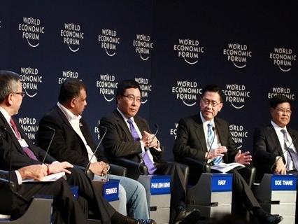Phó Thủ tướng Phạm Bình Minh dự WEF Davos 2015