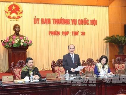 Bế mạc phiên họp 34 Ủy ban Thường vụ Quốc hội