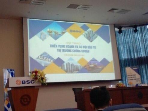 Triển vọng đầu tư 2015: BSC đặc biệt chú trọng ngân hàng và bất động sản