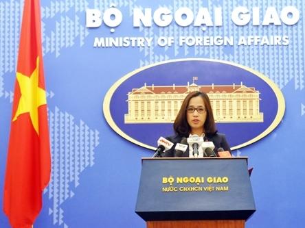 Việt Nam đề nghị Trung Quốc dừng ngay cải tạo ở Trường Sa