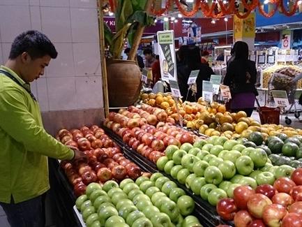 Việt Nam đã nhập khẩu khoảng 1.000 tấn táo từ Mỹ