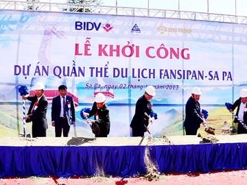 Công trình văn hóa giải trí Fansipan Sapa được miễn cấp phép xây dựng