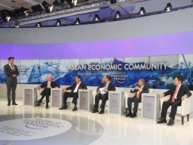 Dấu ấn Việt Nam tại WEF Davos 2015
