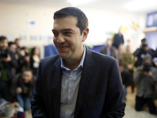 Cổ phiếu, euro đồng loạt giảm sau chiến thắng của Đảng Syriza