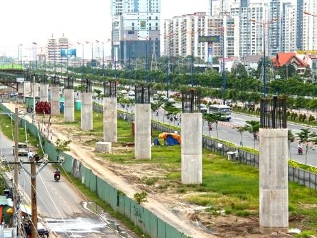 Tuyến metro Bến Thành - Suối Tiên vẫn còn vướng mặt bằng