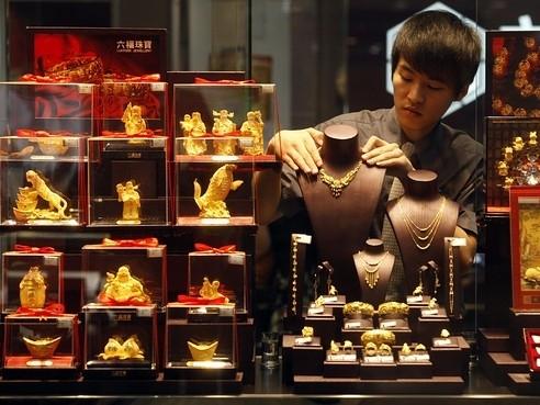 Nhập khẩu vàng Trung Quốc từ Hong Kong giảm 32%