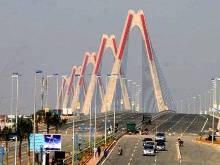 Nghiên cứu làm đường từ cầu Nhật Tân đến trung tâm Ba Đình