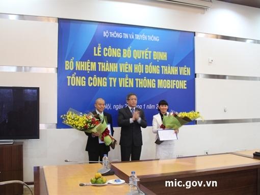 Bổ nhiệm 2 Thành viên HĐTV Tổng công ty Viễn thông Mobifone