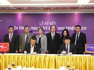TPBank và Vietjet ký gói tài trợ tín dụng 400 triệu USD mua máy bay
