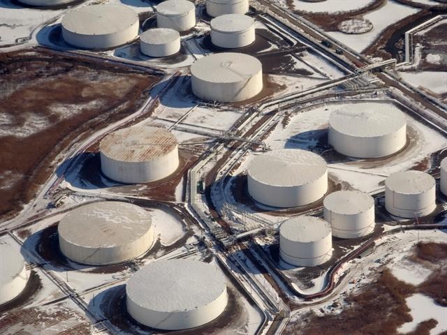 Dự trữ dầu Mỹ tăng 3 tuần liên tiếp, cao nhất kể từ 1982