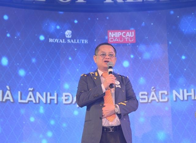 Tổng giám đốc Thủy sản Minh Phú Lê Văn Quang là nhà lãnh đạo xuất sắc nhất 2014