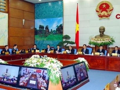 Hôm nay, Chính phủ họp thường kỳ tháng 1/2015