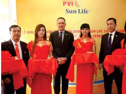 PVI Sun Life khai trương văn phòng kinh doanh tại Tiền Giang