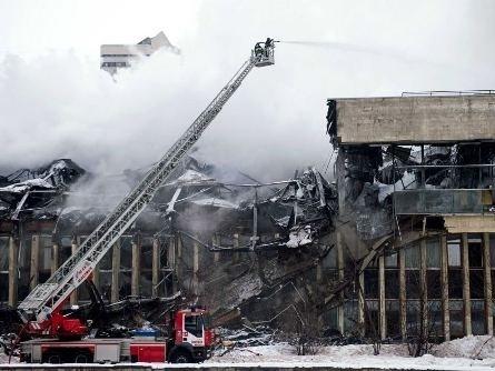 Cháy thư viện ở Nga được ví như 'thảm họa hạt nhân Chernobyl'