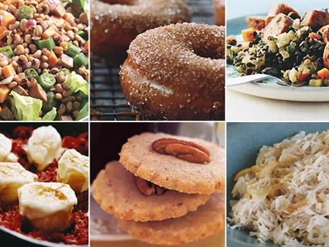 Ăn gì để may mắn trong Năm mới?