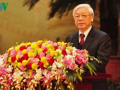 Mít tinh trọng thể kỷ niệm 85 năm thành lập Đảng Cộng sản Việt Nam