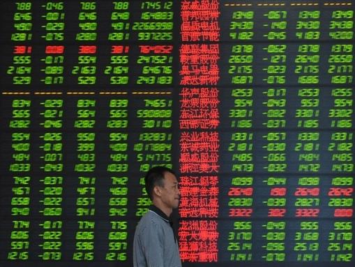 Chứng khoán châu Á xuống thấp nhất hơn 1 tuần