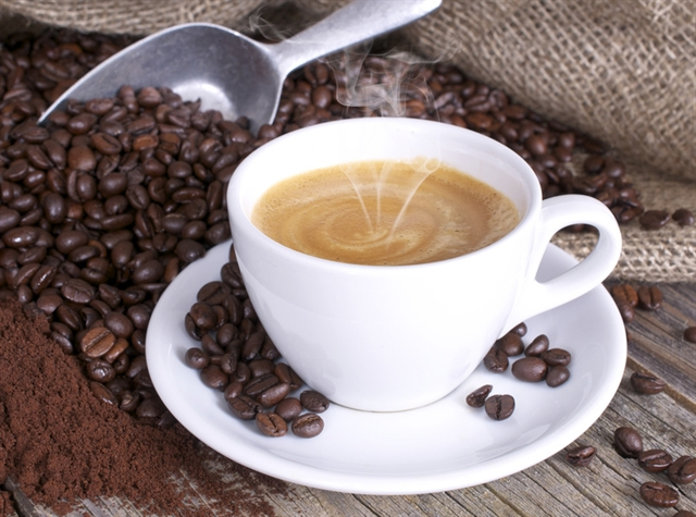 Giá cà phê Tây Nguyên giảm xuống 38,9-39,6 triệu đồng/tấn
