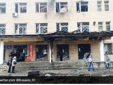 Pháo kích vào bệnh viện tại Donetsk, 15 người thiệt mạng