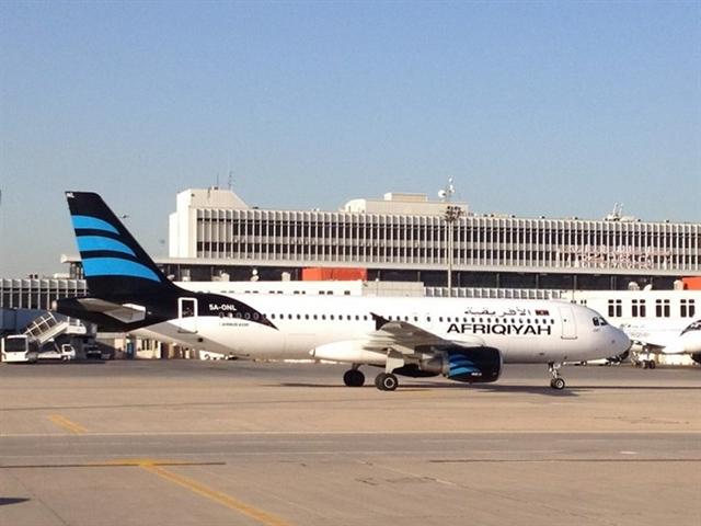 Libya tạm ngừng các chuyến bay tới châu Âu