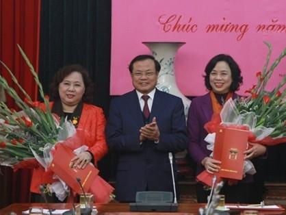 Hà Nội: Công bố Quyết định chuẩn y 2 Phó Bí thư Thành ủy