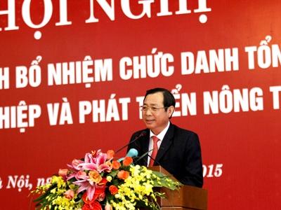 Ông Tiết Văn Thành làm Tổng giám đốc Agribank