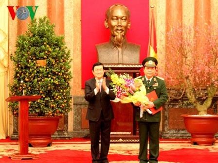 Phó Chủ tịch Quốc hội Huỳnh Ngọc Sơn được thăng hàm Thượng tướng