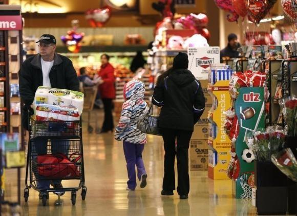 Giá tiêu dùng tại Mỹ tháng 1 giảm mạnh nhất 6 năm
