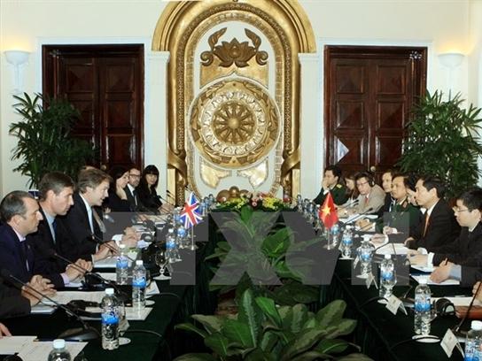 Đối thoại chiến lược Việt Nam-Vương quốc Anh lần thứ tư