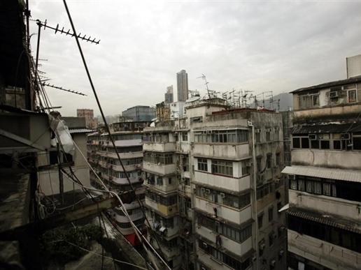 """""""Căn hộ quan tài"""" giữa trung tâm Hong Kong"""