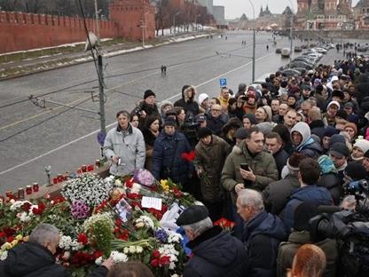 Tổng thống Putin cam kết làm tất cả để điều tra vụ sát hại ông Nemtsov
