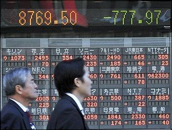 Chứng khoán châu Á giảm mạnh nhất hơn 1 tháng