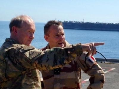 Tổng tham mưu trưởng Liên quân Mỹ bất ngờ tới Iraq bàn cách chống IS