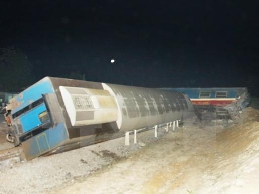 Tai nạn tàu hỏa nghiêm trọng trên tuyến đường sắt Bắc Nam