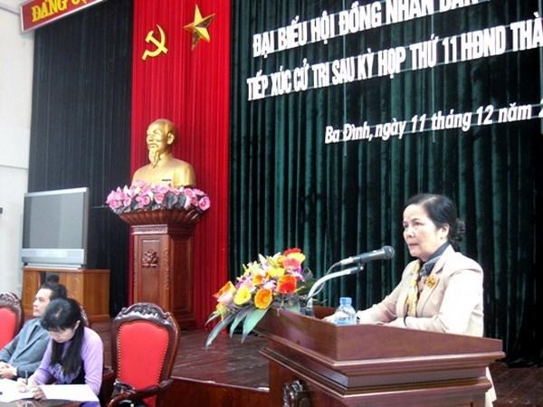 Chủ tịch HĐND Hà Nội giữ chức Phó Ban Dân vận Trung ương