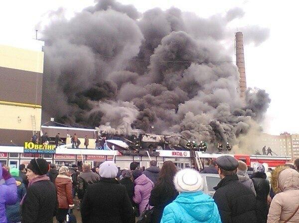 Cháy trung tâm mua sắm Nga, hơn 30 người thương vong