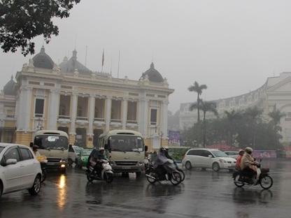 Miền Bắc tiếp tục có mưa phùn, ẩm ướt