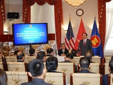 Bộ trưởng Bộ Công an thăm và làm việc tại Mỹ