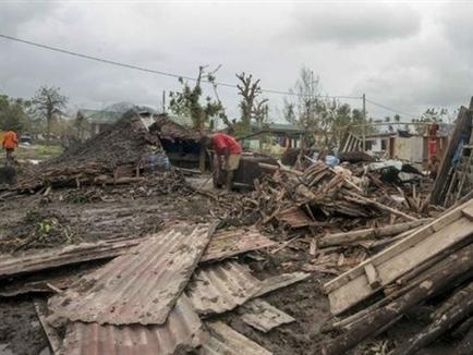 Siêu bão san phẳng quốc đảo Vanuatu