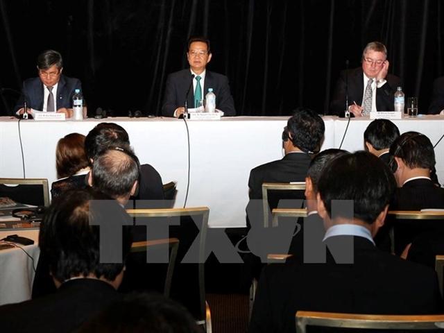 Thủ tướng đối thoại với các doanh nghiệp hàng đầu Australia