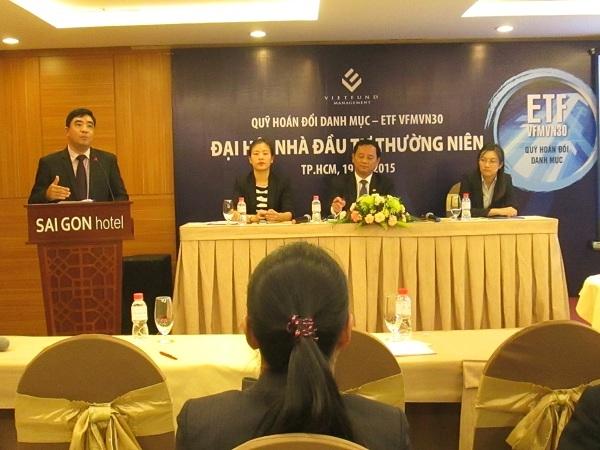 ĐHCĐ ETF VFMVN30: Nguồn vốn đầu tư vào Việt Nam năm 2015 sẽ bị ảnh hưởng bởi Fed