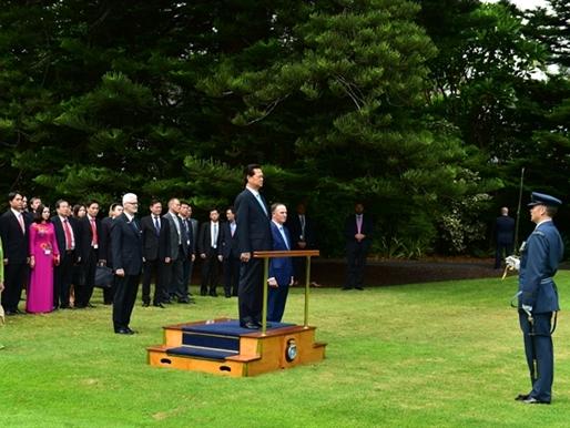 Thủ tướng Nguyễn Tấn Dũng tới New Zealand