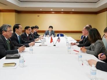 Bộ trưởng Trần Đại Quang tiếp kiến nhiều quan chức cấp cao Hoa Kỳ