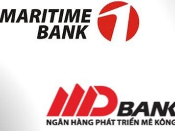 NHNN chấp thuận nguyên tắc MDB sáp nhập vào Maritime Bank