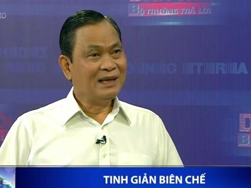 Bộ trưởng Bộ Nội vụ nói về tinh giản biên chế