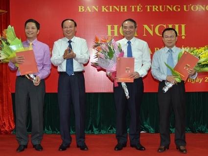 Bổ nhiệm 3 Phó Trưởng Ban Kinh tế Trung ương