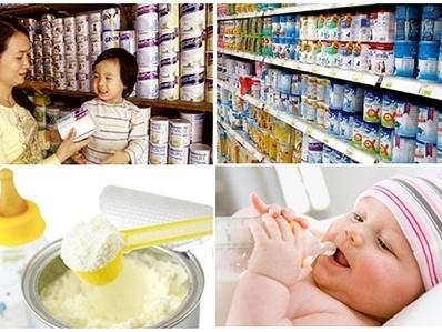 Bộ Tài chính áp giá trần với sữa cho trẻ em dưới 6 tuổi